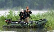 Весенняя рыбалка с лодки Фрегат.