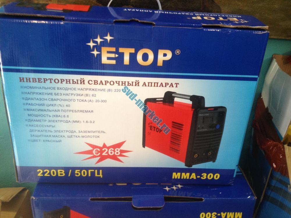 Сварочный аппарат E-TOP 250