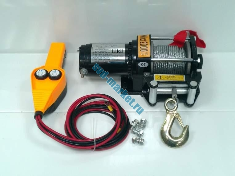 Electric Winch 2000-Lb
