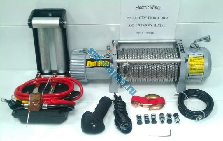 Electric Winch 12000-Lb