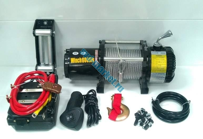 Electric Winch 6000-Lb