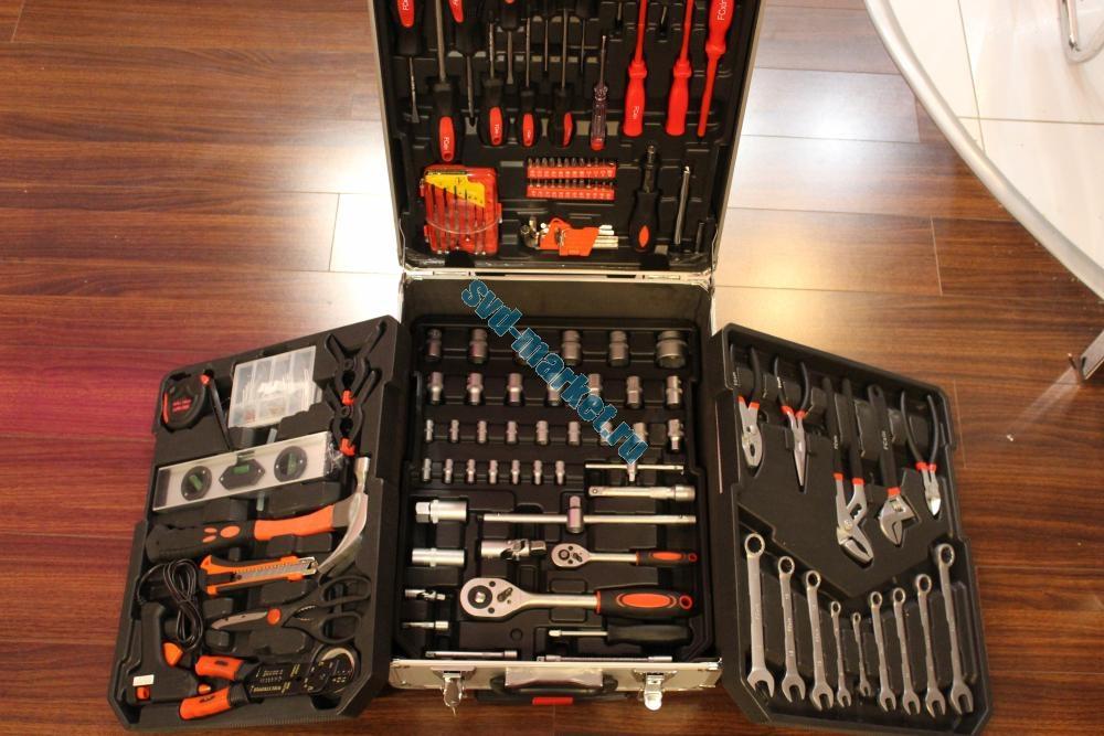 Набор инструментов 187 предметов в кейсе.